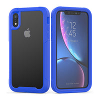 Blue Guardian Rugged Clear Case (iPhone XR)
