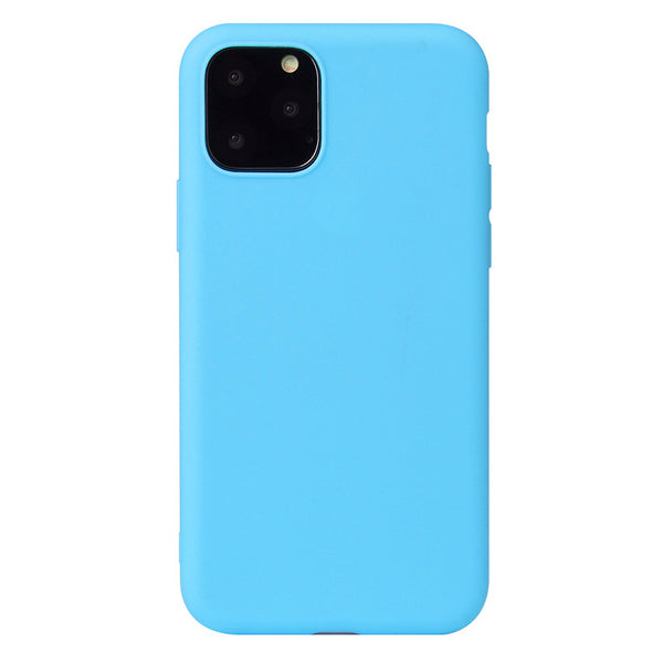 Matte Sky Blue Soft Case (iPhone 11 Pro Max)