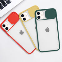 Red Slide Clear Case (iPhone 11)