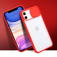 Navy Slide Clear Case (iPhone 11 Pro Max)