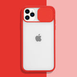 Red Slide Clear Case (iPhone 11 Pro)