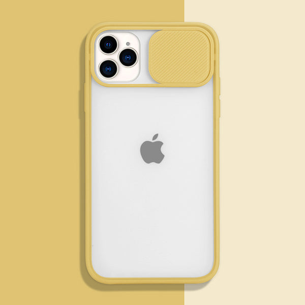 Yellow Slide Clear Case (iPhone 11 Pro Max)