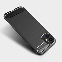 Black Brushed Metal Case (iPhone 12 Mini)