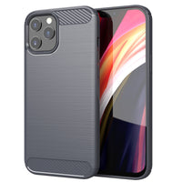 Grey Brushed Metal Case (iPhone 12 Pro Max)