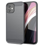 Grey Brushed Metal Case (iPhone 12)