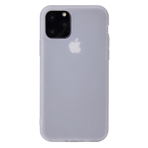 Matte Clear White Soft Case (iPhone 12 Pro Max)