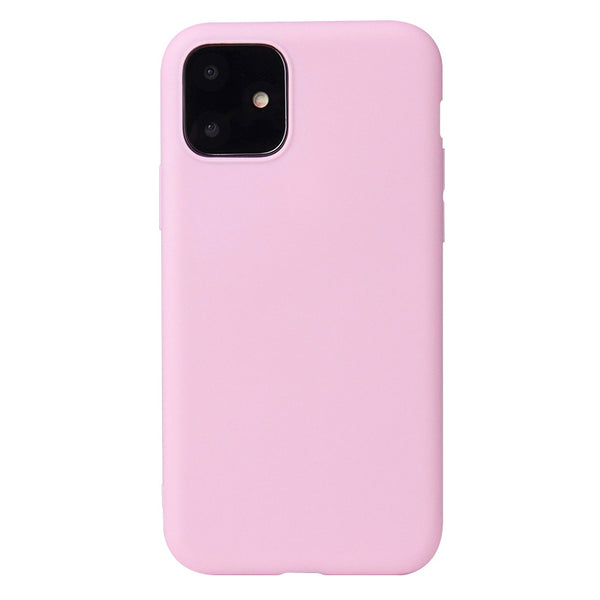 Matte Pink Soft Case (iPhone 12)