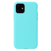 Matte Mint Blue Soft Case (iPhone 12 Mini)