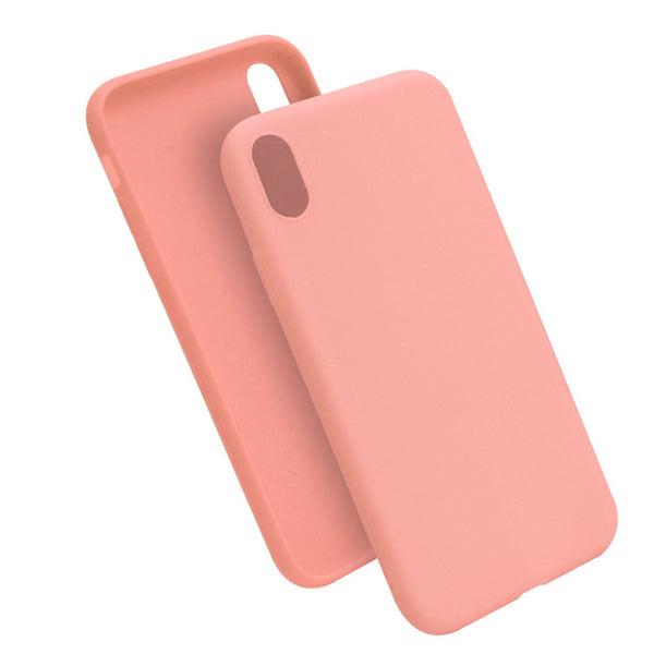 Matte Peach Soft Case (iPhone XR)