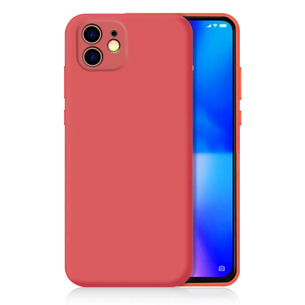 Matte Coral Red Soft Case (iPhone 11)