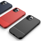 Red Carbon Fiber Case (iPhone 12 Pro)