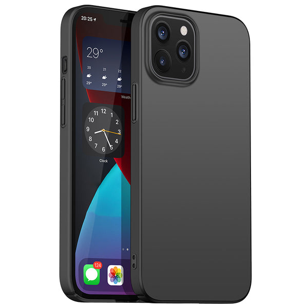 Matte Black Hard Case (iPhone 12 Pro)