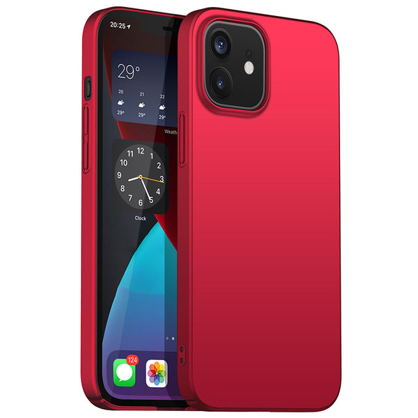 Metallic Red Hard Case (iPhone 12 Mini)