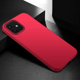 Metallic Red Hard Case (iPhone 12)