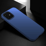 Metallic Navy Hard Case (iPhone 12)