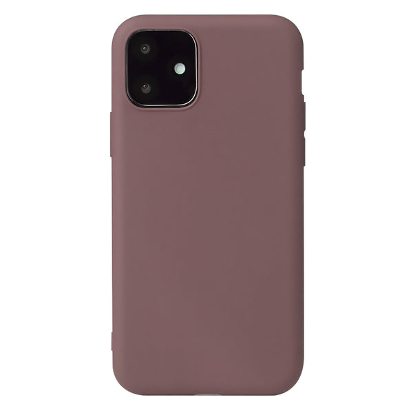 Matte Brown Soft Case (iPhone 12 Mini)