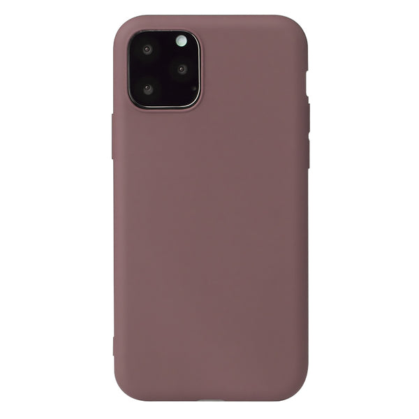 Matte Brown Soft Case (iPhone 12 Pro Max)