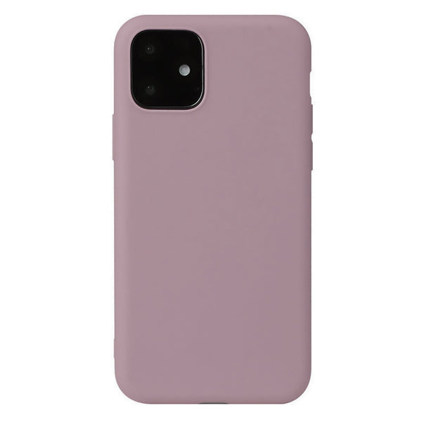 Matte Pastel Pink Soft Case (iPhone 12 Mini)