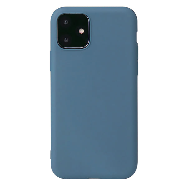 Matte Slate Blue Soft Case (iPhone 12 Mini)