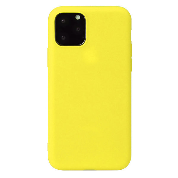 Matte Yellow Soft Case (iPhone 12 Pro Max)