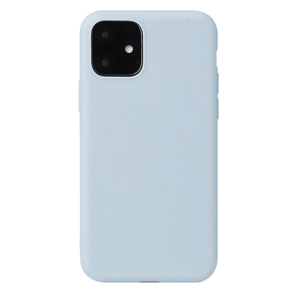 Matte Powder Blue Soft Case (iPhone 12 Mini)