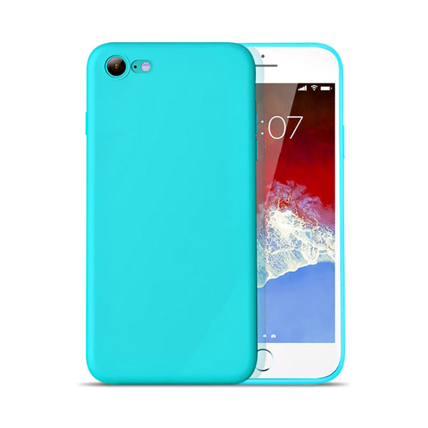 Matte Mint Blue Soft Case (iPhone 6/6+)