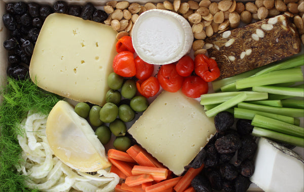 Spanish Regional Cheese Platter