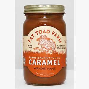 Fat Toad Caramel Sauce