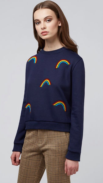 Louche Jan Rainbows Sweatshirt