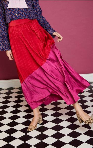 Sister Jane Faye Colour Block Skirt