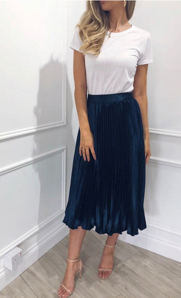 Pretty Lavish Elsa Navy Skirt