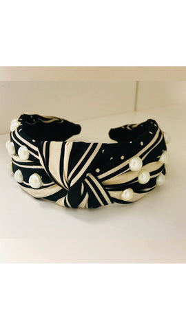 Grace Loves Pearl Polka Dot Headband