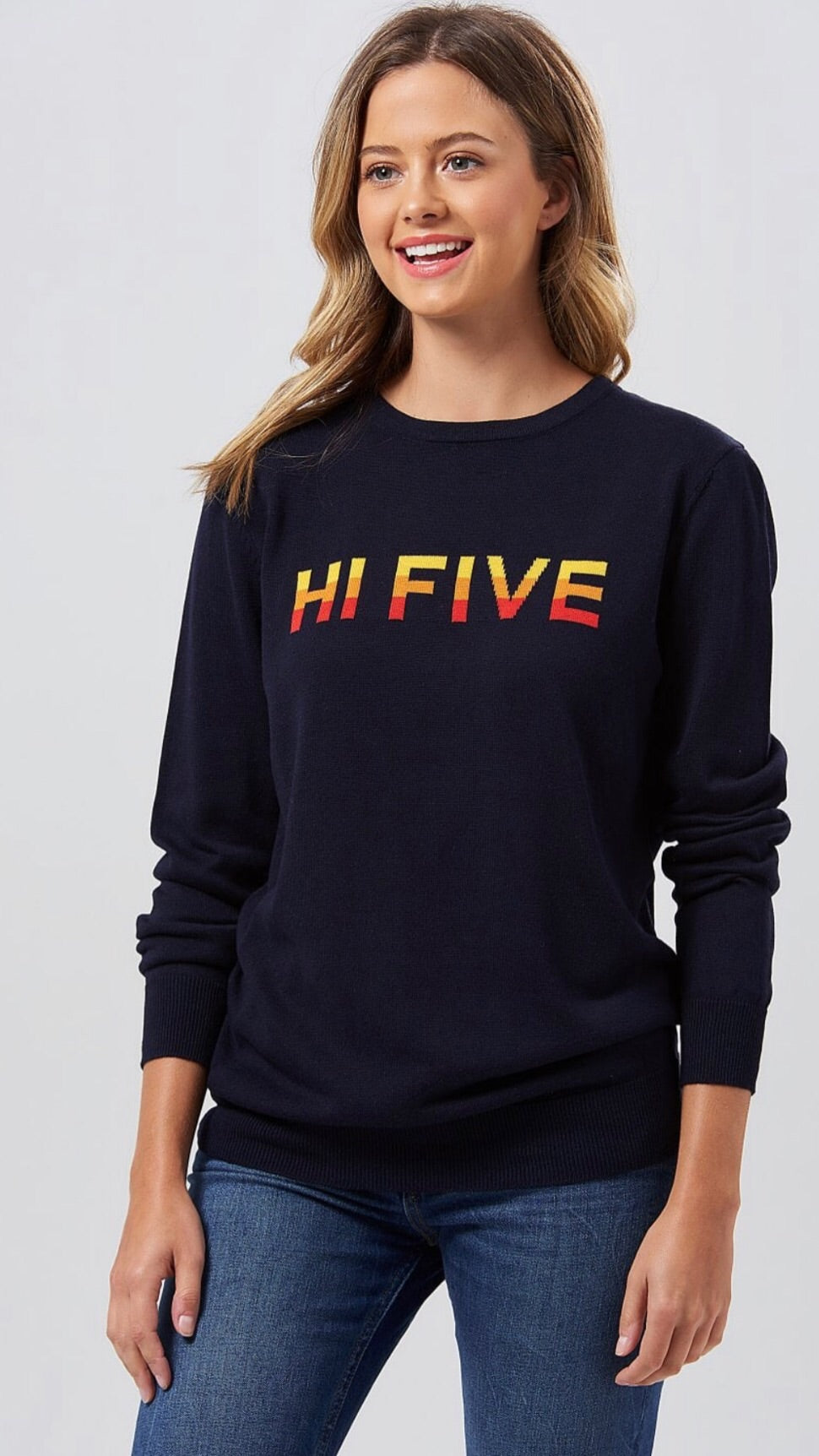 Sugarhill Rita Navy High Five Sweat