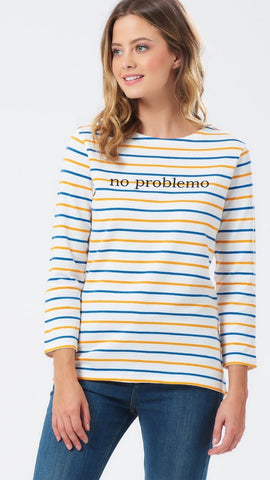 Sugarhill No Problemo Stripe Top