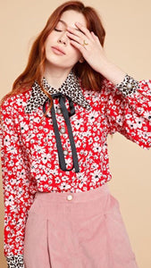 Sister Jane Badges Bow Blouse