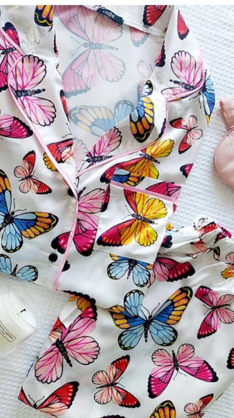 Nightwear Collection - Butterfly Trouser Set