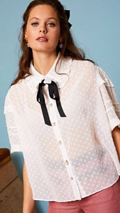 Sister Jane Well Done Ruffle Shirt