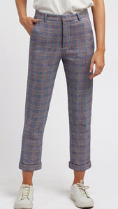 Louche Jaylo Bonnie Check Trousers