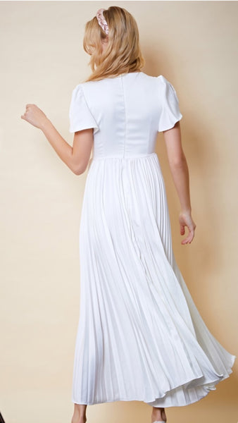 Sister Jane Mairlyn Pleated Maxi Dress
