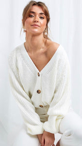 Pretty Lavish Lola Cream Cardigan