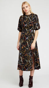 Louche Riley Chain Print Dress