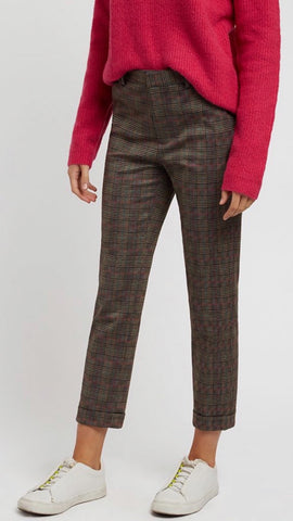Louche Jaylo Heritage Check Trousers