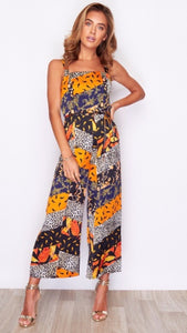 Girl in Mind Clash Jumpsuit