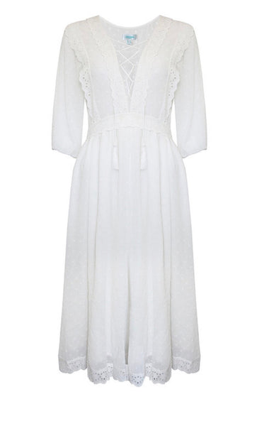 Jovonna Jalisa White Dress
