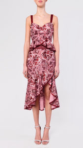 True Decadence Pink Baroque Skirt Co-Ord