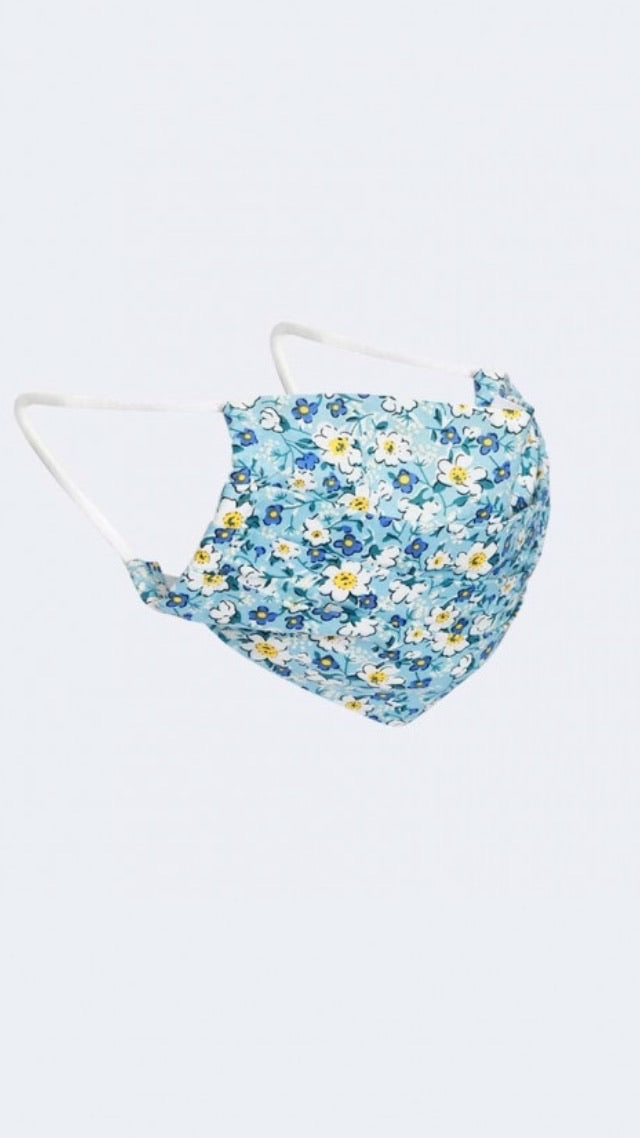 Floral Reusable Face Mask - Style 1