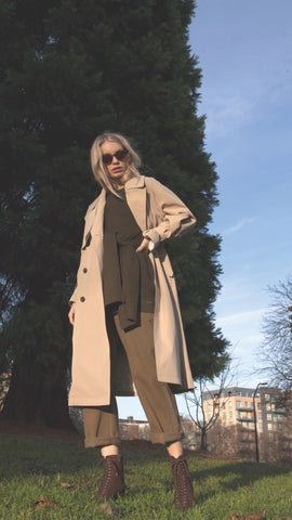 Jovonna Nava Trench Coat ( 2 Colours )