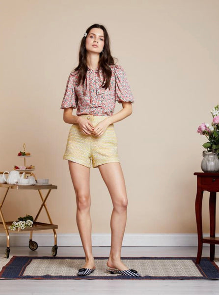 Sister Jane Hey Honey Tweed Shorts