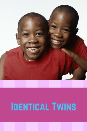 Identical Twins - wecarevida.com -Identical twins are also known as monozygotic twins. They are from a single egg that forms a single zygote that splits into two embryos.