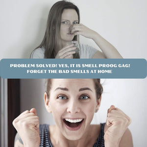 women reaction for smell proof jar